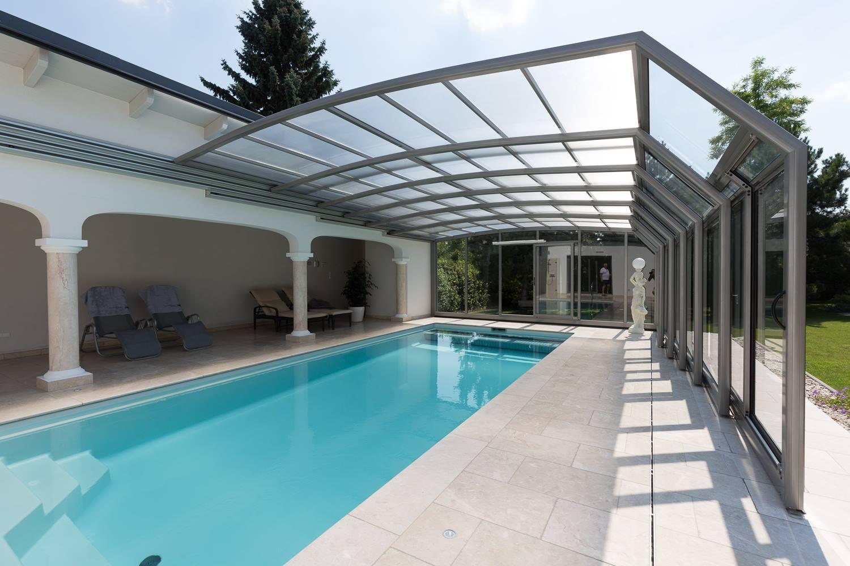 Cobertura automatica de piscina for Cobertura piscina