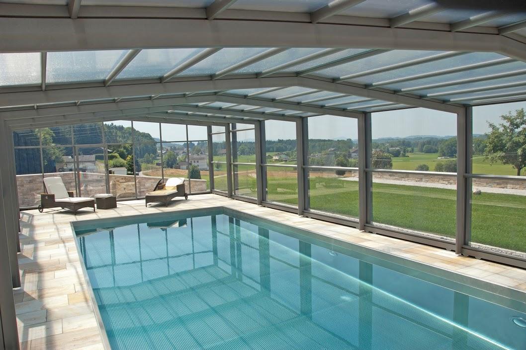 Cobertura automatica retratil telescopica piscina for Cobertura piscina